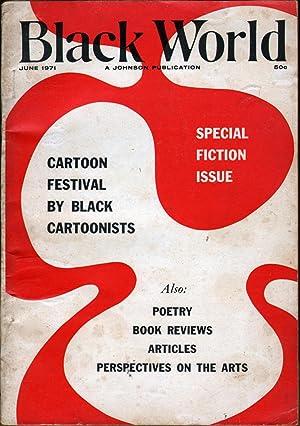 Black World June 1971: Fuller, Hoyt W., Ed.