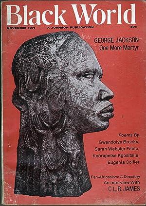 Black World November 1971: Fuller, Hoyt W., Ed.