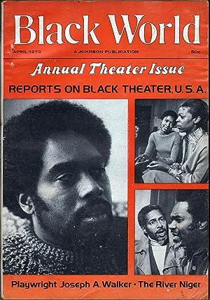 Black World Vol XXII No 6: Fuller, Hoyt W., Ed.