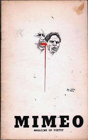 Mimeo: Poetry Magazine: Cornish, Sam and Jean Cornish, Eds