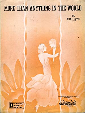 More Than Anything in the World: Lowe, Ruth
