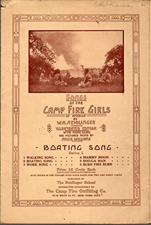 Boating Song (Songs of the Camp Fire Girls): Neidlinger, W.H.