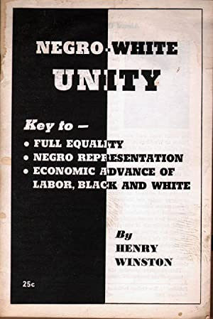 Negro-White Unity: Winston, Henry