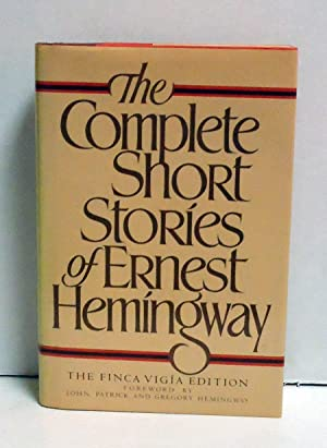 The Complete Short Stories of Ernest Hemingway/the: Hemingway, Ernest