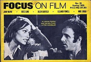 Focus on Film No 20: Eyles, Allen, Ed.