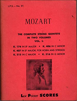 The Complete String Quintets in Two Volumes, Vol. 1: Mozart, Wolfgang Amadeus
