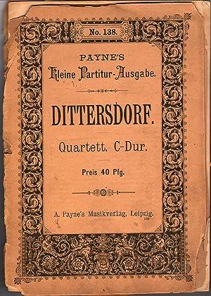 Quartett C-Dur (C Major): Dittersdorf, Carl Ditters Von