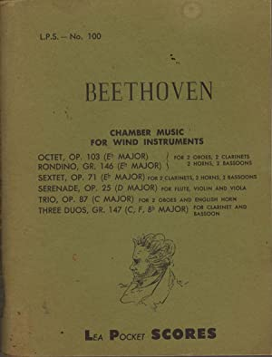 Chamber Music For Wind Instruments: Beethoven, Ludwig Van