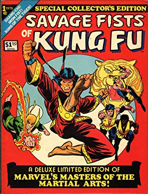 The Savage Fists of Kung Fu Vol 1 No 1 (Special Collector's Edition)