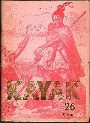 Kayak 26: Hitchcock, George, ed.