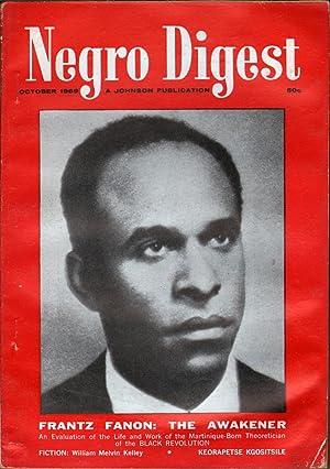 Negro Digest October 1969: Fuller, Hoyt W., Ed.