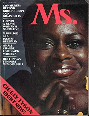 Ms. Magazine Vol 3 No 2 (Cicely Tyson Cover): Steinem, Gloria, Ed.