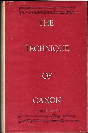 The Technique of Canon: Norden, Hugo