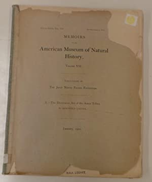 Memoirs of the Museum of Natural History: Volume VII. Publication of the Jessup Pacific Expedition....