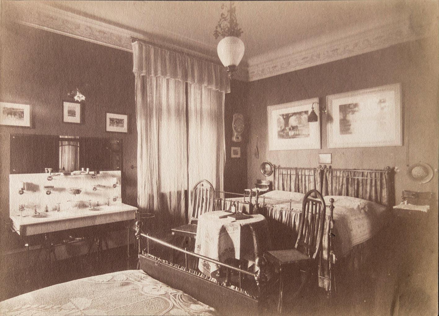 Jugendstil Schlafzimmer-Einrichtung (...