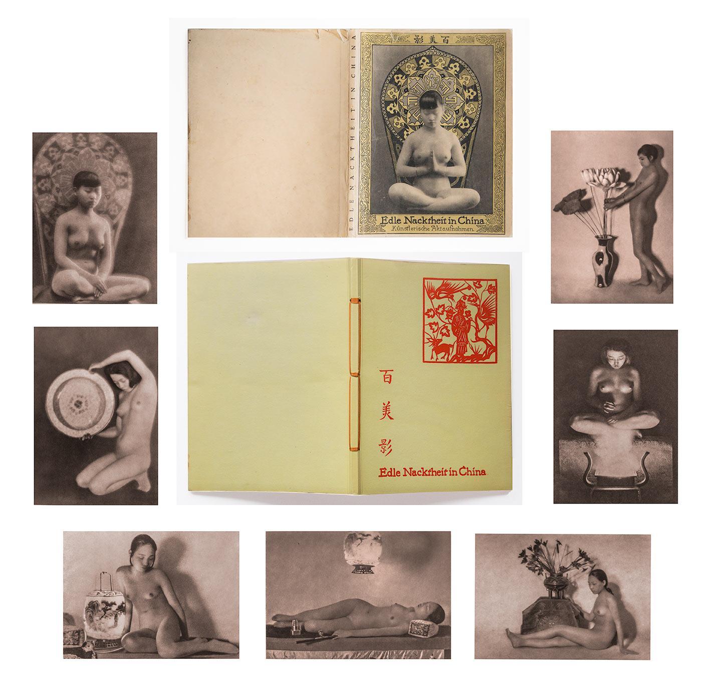 Edle Nacktheit in China. Mit 32 Originalaufnahmen: PERCKHAMMER, Heinz von: