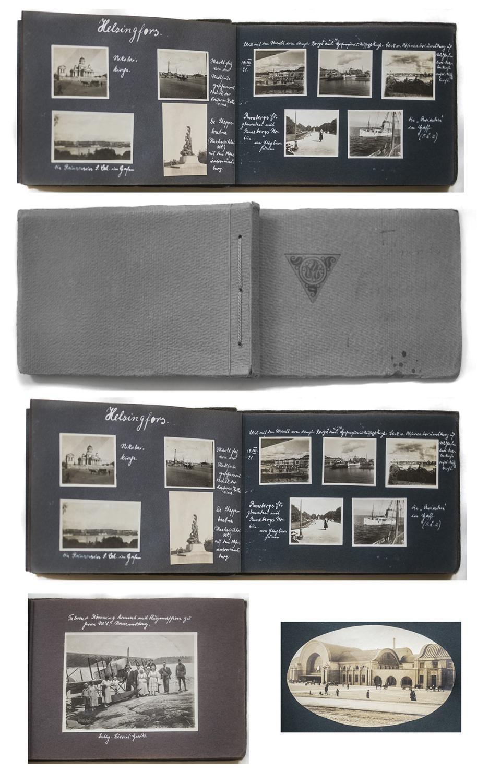 reise foto album nach finnland im juli august 1921 mit. Black Bedroom Furniture Sets. Home Design Ideas