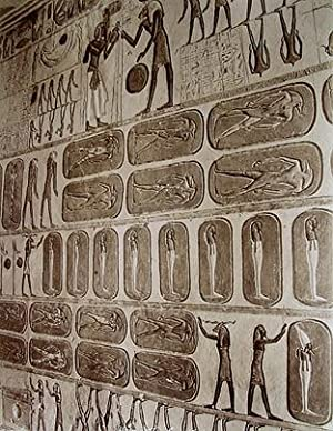 THEBEN: Interieur de tombe (ca. 1885). Albumin-Abzug;: ZANGAKI: