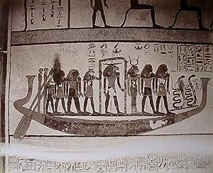 THEBEN: Tableau dans le tombe de roi: ZANGAKI: