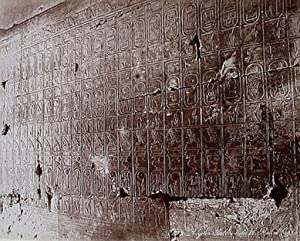 ABYDOS: Tableau de la rois d'Egypte (ca.: ZANGAKI: