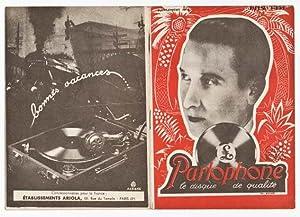 Parlophone Supplement No. 8, Juni 1931. Paris,: Parlophone le disque