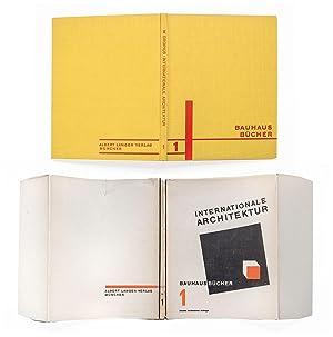 Internationale Architektur. 2. veränderte Auflage. München, Albert: Gropius, Walter: