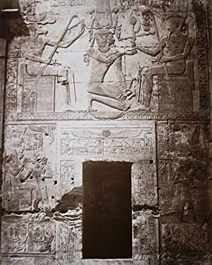 Ägypten. Hieroglyphen in Abydos / Oberägypten. Original-Fotografie,: ZANGAKI: