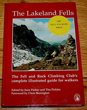The Lakeland Fells. The Fell and Rock Climbing Club's Complete Illustrated Guide for Walkers.