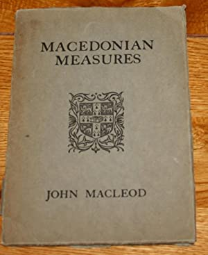 Macedoniam Measures and Others