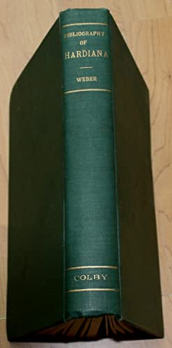 The First Hundred Years of Thomas Hardy 1840 - 1940. A Centenary Bibliography of Hardiana.