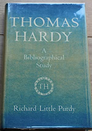 Thomas Hardy. A Bibliograpical Study
