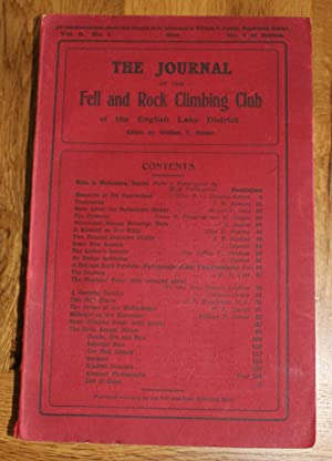 The Journal of The Fell & Rock Climbing Club of the English Lake District. Vol.3 No. 1. No.7 Of S...