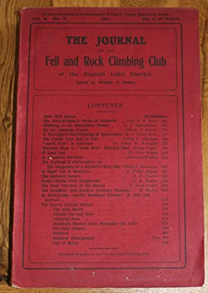 The Journal of The Fell & Rock Climbing Club of the English Lake District. Vol. 2 No.2. No.5. Of ...
