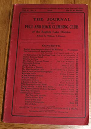 The Journal of The Fell & Rock Climbing Club of the English Lake District. Vol. 3. No.2. No.8 Of ...
