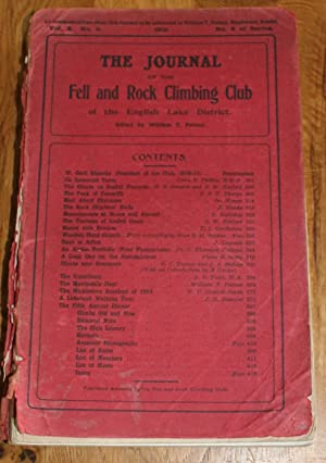 The Journal of The Fell & Rock Climbing Club of the English Lake District. Vol. 2. No. 3 No 6 Of ...
