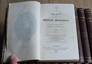 The Plays Of William Shakespeare. From the Correct Edition of Isaac Reed, Esq. 12 Volumes.