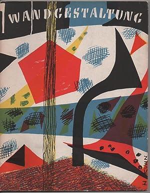 Farbige Wandgestaltung: Hildebrandt, Hans et