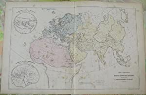 Ancienne Carte de Géographie 37,5 x 57,5: J.Baquol
