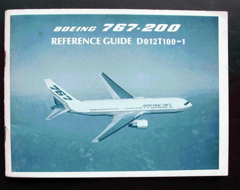 boeing 767 200 reference guide d012t100 1 commercial airplane rh abebooks com boeing 737ng reference guide apk boeing freighter reference guide