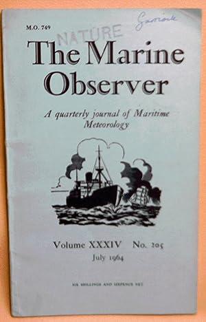 The Marine Observer : A Quarterly Journal