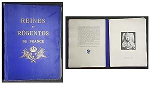 REINES ET RÉGENTES DE FRANCE 987-1793.: Harcourt, Comte Louis