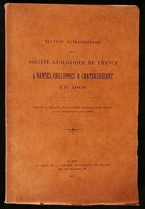 REUNION EXTRAORDINAIRE DE LA SOCIETE GEOLOGIQUE DE: BUREAU Edouard /