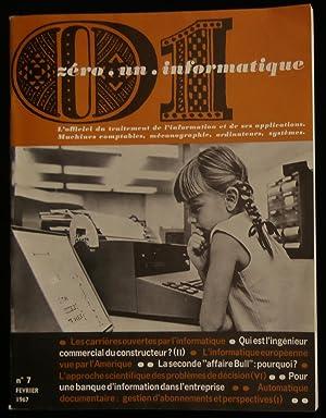 01 INFORMATIQUE ( zéro . un . informatique ) .: REFREGIER Maurice / DEWEZE André / COURGEON Yves / ...