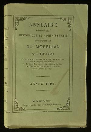 ANNUAIRE STATISTIQUE, HISTORIQUE ET ADMINISTRATIF DU DEPARTEMENT: LALLEMAND Alfred