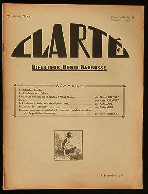 CLARTE .: MARTINET Marcel /