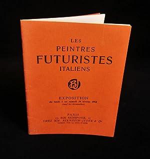 LES PEINTRES FUTURISTES ITALIENS , Exposition du: BOCCIONI Umberto /