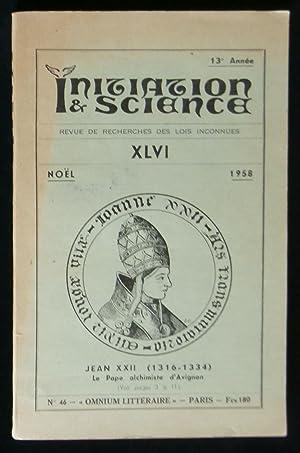 INITIATION et SCIENCE XLVI .: CANSELIET Eugène /