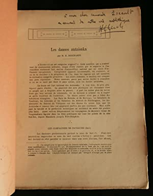 LES DANSES ANTAISAKA ( MADAGASCAR ) .: DESCHAMPS Hubert