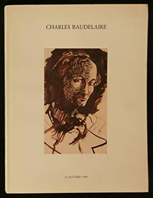 COLLECTION ARMAND GODOY : CHARLES BAUDELAIRE, ses: Maîtres LAURIN, GUILLOUX,