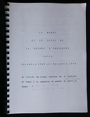 """Journal quotidien ) """" LE MONDE """": anonyme"""